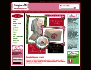 monogramsltd.com screenshot
