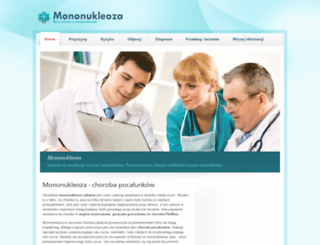 mononukleoza.net.pl screenshot