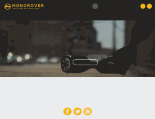 monorover.co screenshot