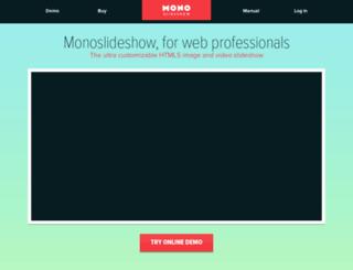 monoslideshow.com screenshot
