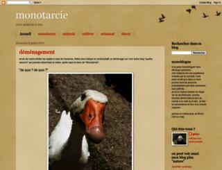 monotarcie.blogspot.com screenshot