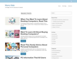 monoweb.info screenshot