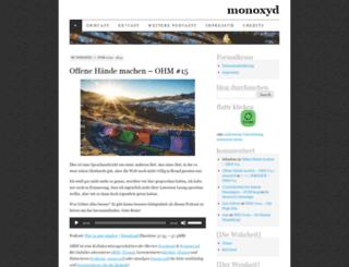 monoxyd.de screenshot