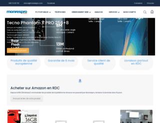 monrespro.cd screenshot