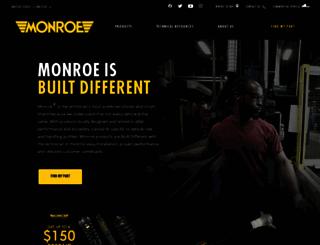 monroe.com screenshot