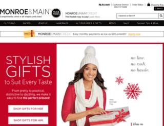 monroeandmain.com screenshot