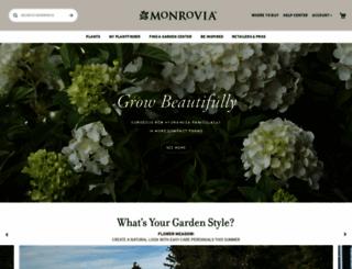 monrovia.com screenshot