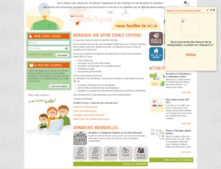 mons.espace-famille.net screenshot