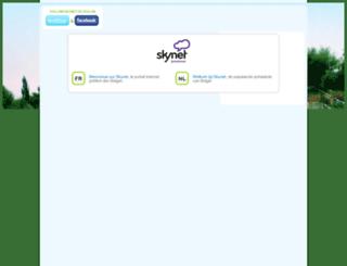 monscellulemploi.skynetblogs.be screenshot