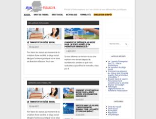 monservice-public.fr screenshot
