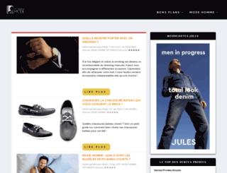 monsieur-mode.com screenshot