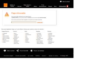 monsite-orange.fr screenshot