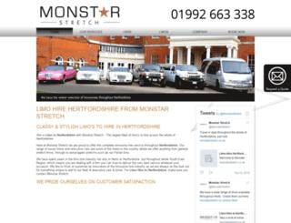 monstarstretch.co.uk screenshot