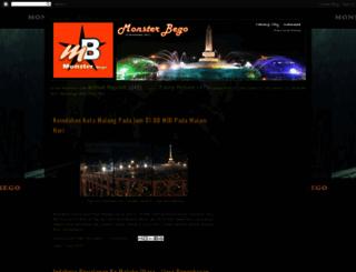 monster-bego.blogspot.com screenshot