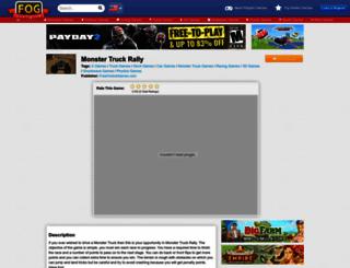monster-truck-rally.freeonlinegames.com screenshot