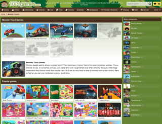 monster-trucks.gamesxl.com screenshot