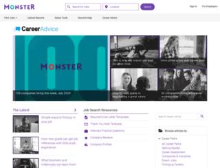 monster.com.br screenshot