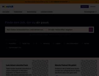 monster.de screenshot