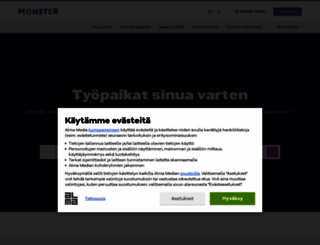 monster.fi screenshot