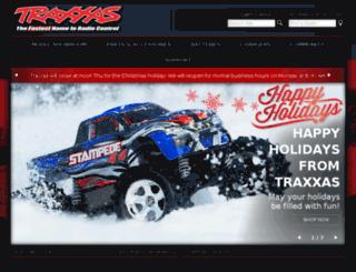monster.traxxas.com screenshot