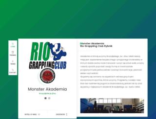 monsterakademia.pl screenshot