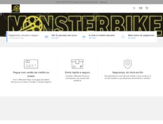 monsterbike.com.br screenshot