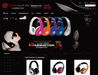 monsterdrebeatss.com screenshot