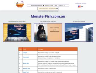 monsterfish.com.au screenshot