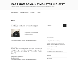 monsterhighway.com screenshot
