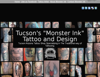 monsterinktattoo.org screenshot