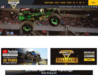 monsterjamonline.com screenshot