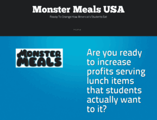 monstermealsusa.com screenshot