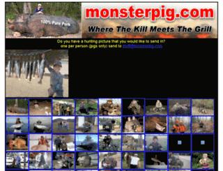monsterpig.com screenshot
