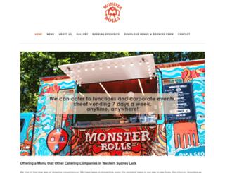 monsterrolls.com.au screenshot