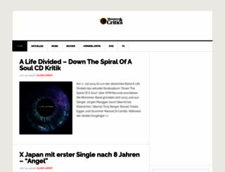 monstersandcritics.de screenshot
