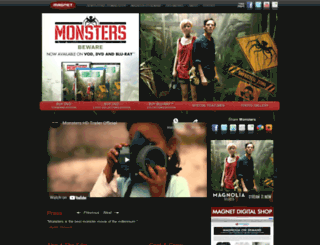 monstersfilm.com screenshot