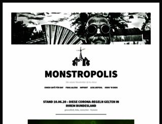 monstropolis.wordpress.com screenshot