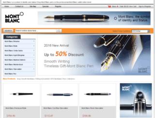mont-blanc-pens.us.com screenshot