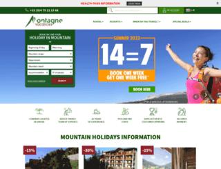 montagne-vacances.co.uk screenshot