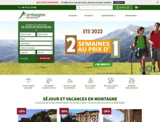 montagne-vacances.com screenshot