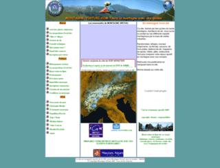 montagne-virtuel.com screenshot
