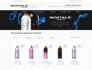 montale-fragrance.ru screenshot