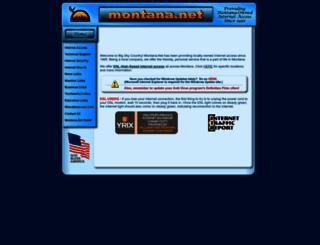 montana.net screenshot