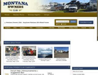 montanaadministrator.forumco.com screenshot