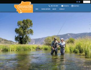 montanaflyfishers.com screenshot