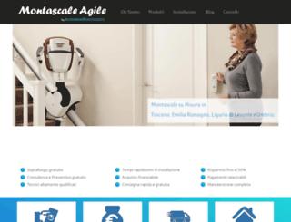 montascaleagile.it screenshot