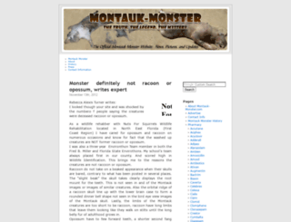 montauk-monster.com screenshot