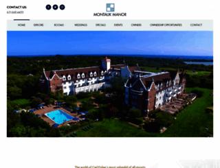 montaukmanor.com screenshot