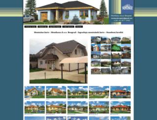 montaznekucejevtic.com screenshot