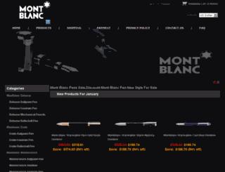 montblanconlines.com screenshot